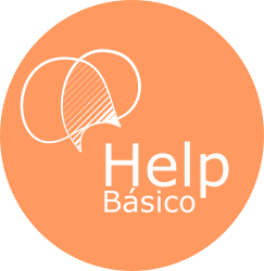 logo HELPbasico bola