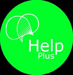 logo HELPplus bola