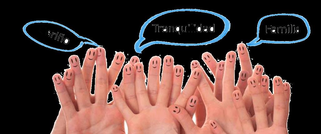 valores personales manos